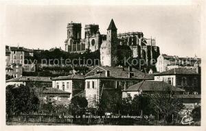 AK / Ansichtskarte Auch_Gers Basilique Tour d Armagnac Auch_Gers