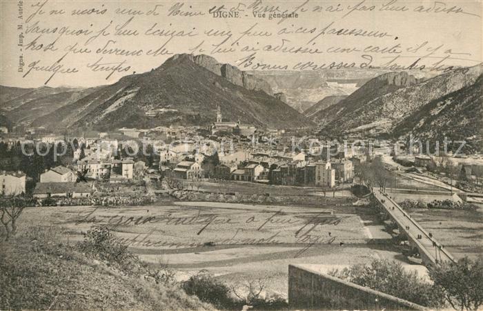 AK / Ansichtskarte Digne les Bains Panorama Digne les Bains 0