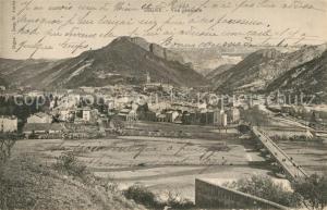 AK / Ansichtskarte Digne les Bains Panorama Digne les Bains