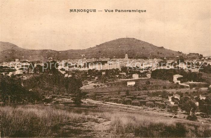 AK / Ansichtskarte Manosque Panorama Manosque 0