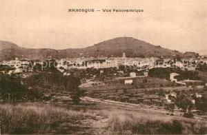 AK / Ansichtskarte Manosque Panorama Manosque