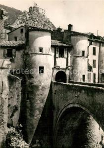 AK / Ansichtskarte Entrevaux Pont Levis Citadelle Entrevaux