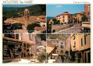 AK / Ansichtskarte Moustiers Sainte Marie Stadtansichten Moustiers Sainte Marie