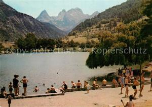 AK / Ansichtskarte Le_Lauzet Ubaye Le Lac au fond les Seolandes Le_Lauzet Ubaye