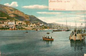 AK / Ansichtskarte Monte Carlo Port Hafen Monte Carlo