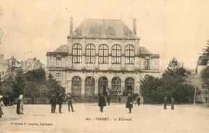 AK / Ansichtskarte Vannes Tribunal  Vannes