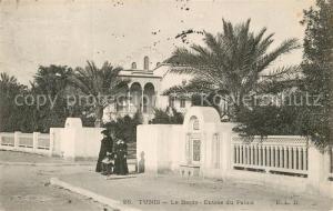 AK / Ansichtskarte Tunis Le Bardo Entree du Palais Tunis