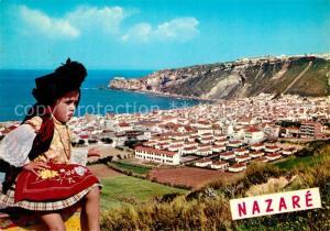 AK / Ansichtskarte Nazare_Portugal Kind Tracht  Nazare Portugal