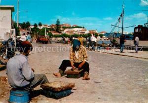 AK / Ansichtskarte Sao_Martinho_do_Porto Pescadores Fishermen