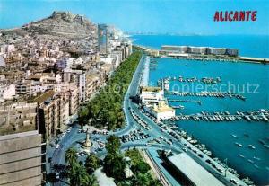 AK / Ansichtskarte Alicante Hafen  Alicante