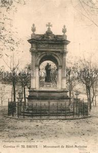 AK / Ansichtskarte Brive_Correze Monument de Saint Antoine Brive Correze