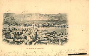 AK / Ansichtskarte Valence_Drome Rhone Panorama Valence_Drome