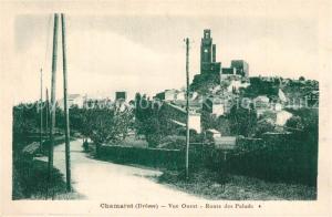 AK / Ansichtskarte Chamaret Vue Ouest Route des Palads Chamaret