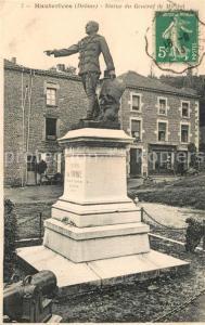 AK / Ansichtskarte Hauterives Statue du General de Miribel Hauterives