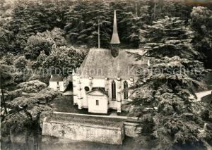 AK / Ansichtskarte Rigny Usse Chapelle du Chateau XVe siecle vue aerienne Rigny Usse