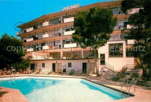 AK / Ansichtskarte Portals_Nous Hotel Savalon Piscina