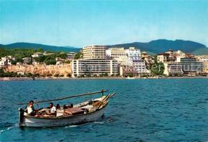 AK / Ansichtskarte Palma_de_Mallorca Vista parcial del puerto barca de pesca Palma_de_Mallorca