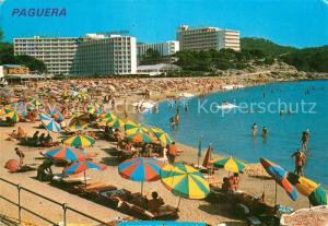 AK / Ansichtskarte Paguera_Mallorca_Islas_Baleares Playa Hotels Paguera_Mallorca