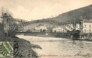 AK / Ansichtskarte Chaudfontaine Pont Chaudfontaine