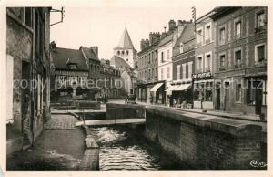 AK / Ansichtskarte Montivilliers La Lezarde Rue Felix Faure Montivilliers