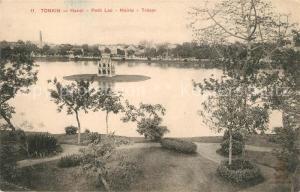 AK / Ansichtskarte Tonkin Hanoi Petit Lac Mairie Tresor Tonkin