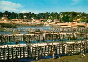 AK / Ansichtskarte Bassin_d_Arcachon Collecteurs d Huitres  Bassin_d_Arcachon