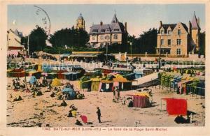 AK / Ansichtskarte Batz sur Mer Le fond de la Plage Saint Michel Batz sur Mer
