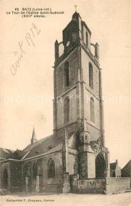 AK / Ansichtskarte Batz sur Mer La Tour de l'Eglise Saint Guenole Batz sur Mer