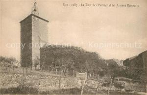 AK / Ansichtskarte Riez La Tour de l'Horloge et les Anciens Remparts Riez