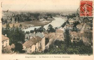 AK / Ansichtskarte Angouleme La Charente et le Faubourg Lhoumeau Angouleme