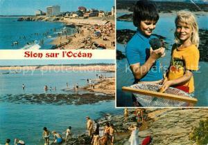 AK / Ansichtskarte Sion_sur_Ocean Saint Hilaire de Riez La Plage Sion_Sur_Ocean