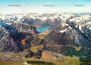 AK / Ansichtskarte Achensee Achenseegebiet Alpen Fliegeraufnahme Achensee