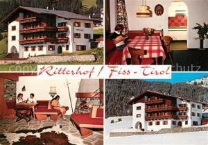 AK / Ansichtskarte Fiss_Tirol Ferien Appartements Ritterhof  Fiss_Tirol