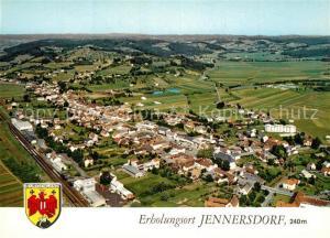 AK / Ansichtskarte Jennersdorf Fliegeraufnahme  Jennersdorf