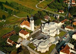 AK / Ansichtskarte Oberwart Osterkirche Fliegeraufnahme  Oberwart