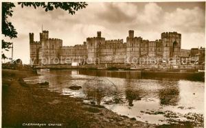 AK / Ansichtskarte Caernarvon Caernarvon Castle Caernarvon