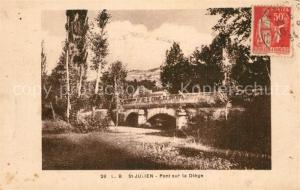 AK / Ansichtskarte Saint Julien en Vercors Pont sur la Diege Saint Julien en Vercors