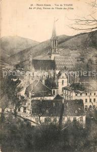 AK / Ansichtskarte Thann_Haut_Rhin_Elsass Au 1er plan Ruines de l'Ecole des Filles Thann_Haut_Rhin_Elsass