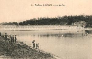 AK / Ansichtskarte Semur en Brionnais Lac de Pont Semur en Brionnais