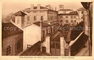 AK / Ansichtskarte Allex Ecole Apostolique des Petits Clercs Allex