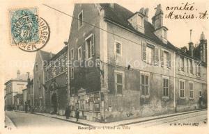 AK / Ansichtskarte Bourges Hotel de Ville Bourges