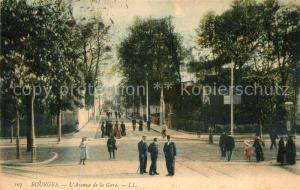 AK / Ansichtskarte Bourges Avenue de la Gare Bourges