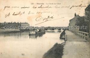 AK / Ansichtskarte Vierzon Bords du Canal Vierzon