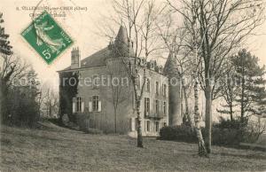 AK / Ansichtskarte Villeneuve sur Cher Chateau Villeneuve sur Cher