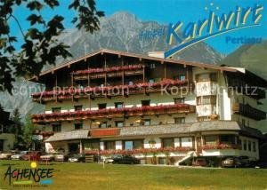 AK / Ansichtskarte Pertisau_Achensee Hotel Karlwirt Alpen Pertisau Achensee