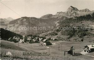 AK / Ansichtskarte Bellecombe en Bauges Le Mont Charvin Bellecombe en Bauges