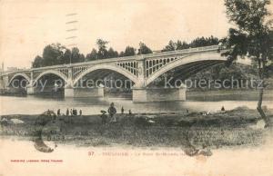 AK / Ansichtskarte Toulouse_Haute Garonne Le Pont St Michel Toulouse Haute Garonne