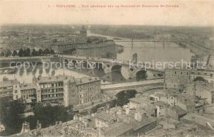 AK / Ansichtskarte Toulouse_Haute Garonne Vue generale sur la Garonne et Faubourg St Cyprien Toulouse Haute Garonne