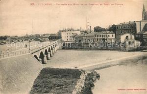 AK / Ansichtskarte Toulouse_Haute Garonne Chaussee des Moulins du Chateau det Pont de Tounis Toulouse Haute Garonne