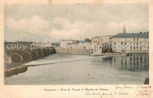AK / Ansichtskarte Toulouse_Haute Garonne Pont de Tonnis et Moulin du Chateau Toulouse Haute Garonne